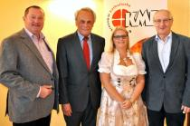 Ing. Karl Toifl, Prof. Dr. Josef Höchtl, Doris Weixelbraun und DI Dr. Leopold Wimmer (Foto: Scholz)