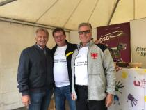 Foto: ÖSV-Sportdirektor Hans Pum, DSG-Vorsitzender Sepp Eppensteiner, DSGÖ-Vorsitzender Pepi Frank