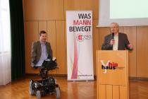 Dr. Georg Fraberger mit KMB-Obmann DI Dr. Leopold Wimmer