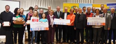 PreisträgerInnen des Diözesanen Umweltpreises 2019